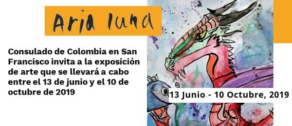 Consulado de Colombia en San Francisco invita a la exposición de arte que se llevará a cabo entre el 13 de junio y el 10 de octubre