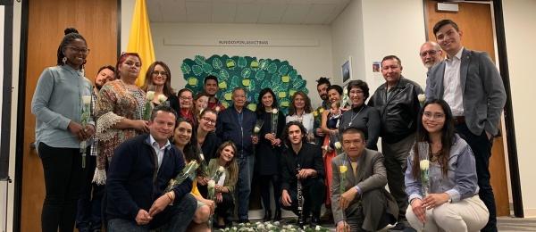 Con un espacio de encuentro y reconocimiento el Consulado en San Francisco  conmemoró el Día Nacional de la Memoria y Solidaridad con las Víctimas