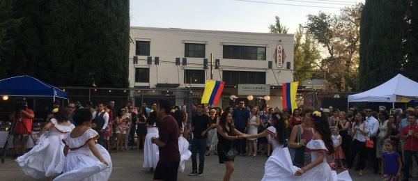 El Consulado de Colombia en San Francisco conmemoró junto a los connacionales el Día de la Independencia de Colombia