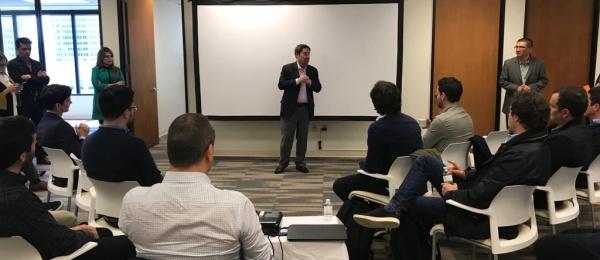 En el marco de la visita del Presidente Iván Duque Márquez a Estados Unidos, el Consulado de Colombia en San Francisco realizó el conversatorio para empresarios y emprendedores colombianos
